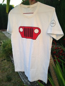 Camiseta chico frontal Jeep Hispano (imagen lateral)